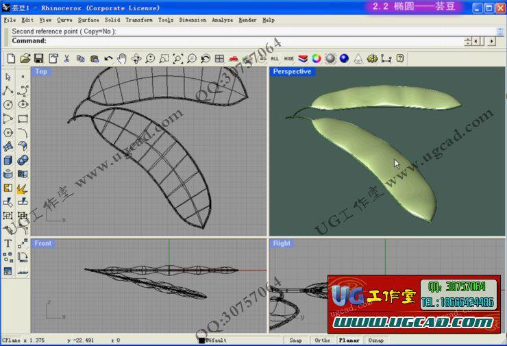 犀牛Rhino4建模视频教程