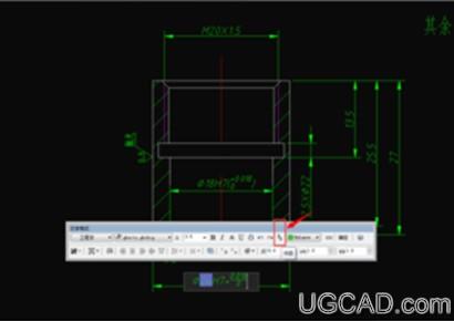 CAD同时显示公差代号和极限偏差的方法